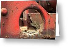 See The Rust Greeting Card