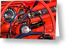 See The Usa In Your Chevrolet 1 Greeting Card