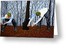 See What I Saw - 2d Greeting Card