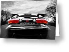 See You Later - Pontiac Trans Am Greeting Card