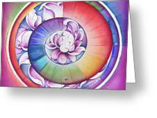 Seed Of Life - Mandala Of Divine Creation Greeting Card