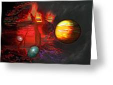 Seeds Of The Universe Greeting Card