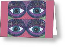Seeing Double - Tjod 38 Compilation Greeting Card