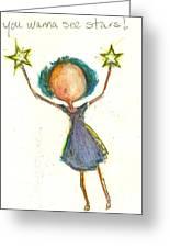 Seeing Stars Greeting Card