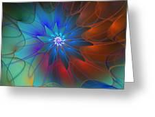 Seeking Centerdness  Greeting Card