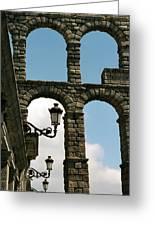 Segovia Aqueduct Greeting Card