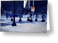 Segway - City Of Chicago Greeting Card