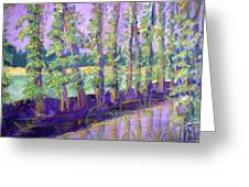 Seine River Greeting Card by Made by Marley