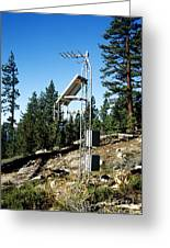 Seismological Station Greeting Card