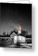 Selective Fire Greeting Card