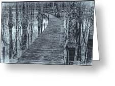 Selenium Boardwalk  Greeting Card