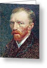 Self Portrait Vincent Van Gogh Greeting Card