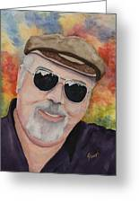 Self Portrait With Sunglasses Greeting Card