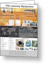 Self Serivce Laundary Machine Subhang Jaya Greeting Card