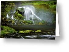 Selja Land Foss Greeting Card