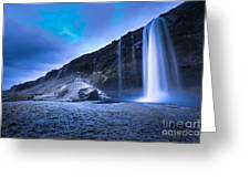Seljalandsfoss Iceland Greeting Card
