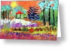 Sellersville Sunset Greeting Card