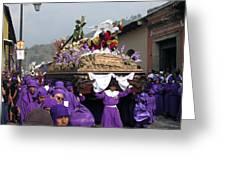 Semana Santa Procession V Greeting Card