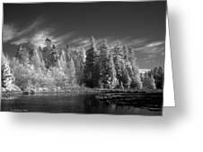 Semiahmoo River Greeting Card
