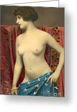 Semin Nude Girl Greeting Card