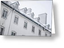 Seminary Of Quebec City In Old Town Greeting Card