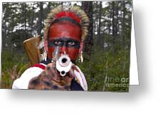Seminole Warrior Greeting Card