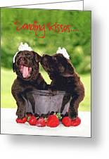 Sending Kisses Greeting Card