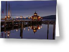 Seneca Lake Reflection Greeting Card