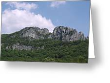 Seneca Rocks Greeting Card