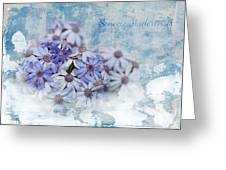 Senecio Maderensis Greeting Card