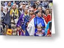 Senior Traditional Women Greeting Card