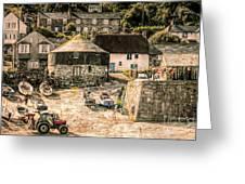 Sennen Cove Cornwall Greeting Card