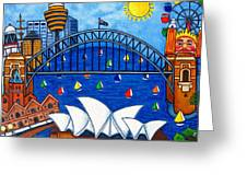 Sensational Sydney Greeting Card