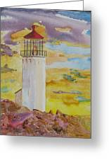 Sentinel Lighthouse Greeting Card
