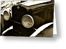 Sepia Chevy Greeting Card