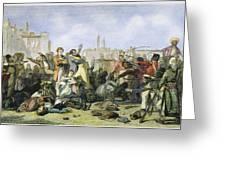 Sepoy Mutiny, 1857 Greeting Card by Granger