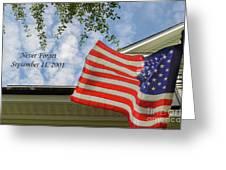September 11 Greeting Card