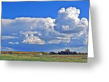 September Clouds Greeting Card
