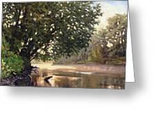 September Dawn Little Sioux River - Plein Air Greeting Card