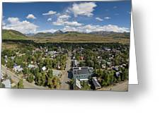 September Skies Over Crested Butte Greeting Card