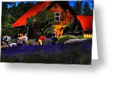Sequim Lavender Greeting Card