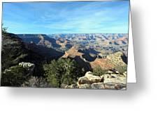 Serene Canyon Greeting Card