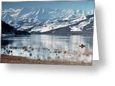Serene Paddling Greeting Card