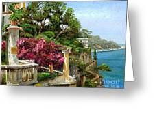 Serene Sorrento Greeting Card