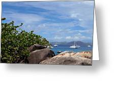 Serenity Abounds Greeting Card