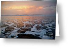 Serenity At The Sea Greeting Card