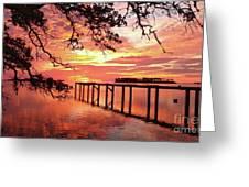 Serenity Captured Greeting Card