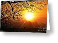 Serenity Dawns Greeting Card