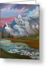 Serenity In Pastel Greeting Card