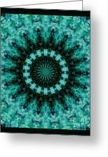 Serenity Mandala Greeting Card